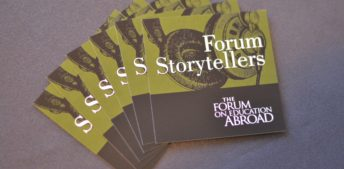 New episode of Forum Storytellers out now