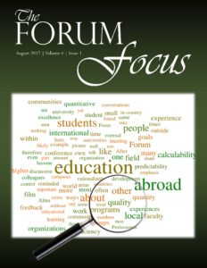Cover art for The Forum Focus, Volume 4, Issue 1