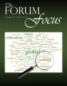 The Forum Focus - November 2017 cover