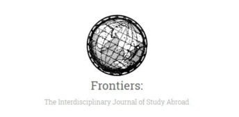 Read the Latest Issue of Frontiers: The Interdisciplinary Journal of Study Abroad
