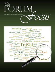 Forum Focus - February 2018
