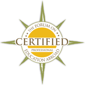Professional Certification in Education Abroad logo