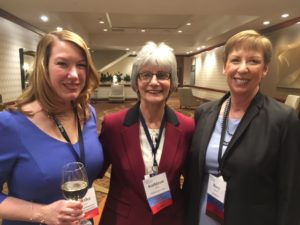 Martha Johnson, Kathy Sideli, and Mary Dwyer
