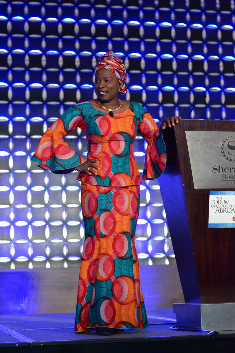 Angelique Kidjo, Opening Plenary Speaker in Boston 2018