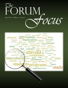 Forum Focus Cover - May 2018