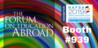 Visit The Forum's Booth at NAFSA