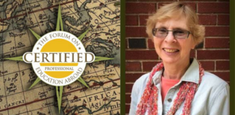 New certified professional, Anita Casper of Bucknell University